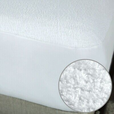 Extra Deep Waterproof Mattress Terry Towel Protector Fitted Sheet Cover All Size