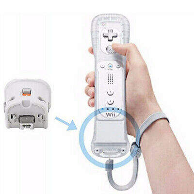 UK Original Nintendo Wii Motion Plus Adapter for Wii Remote Controller in White
