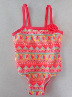Op Etchy Hearts One-Piece Swimsuit Infant Girls Sizes NWT
