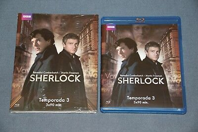 SHERLOCK . BLURAY blu ray - Temporada 3