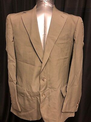 Polo University Club by Ralph Lauren Suit Blazer 42R Made in USA