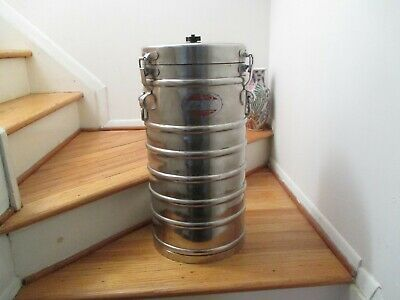 AerVoid Stainless Steel Insulated Thermal Food Carrier Container Model 2 x 10