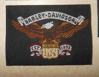 Harley Davidson Iron /Sew on Patch.  Brand New, Never used