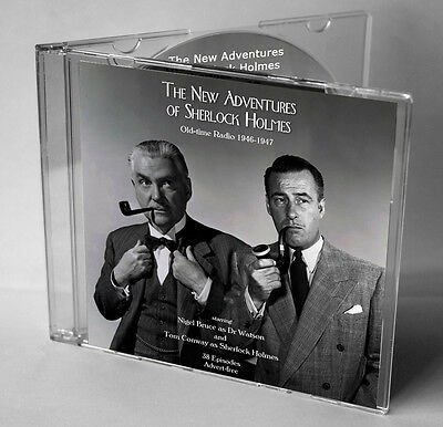 The New Adventures of Sherlock Holmes Old-time Radio - CD (Ad-free Episodes)