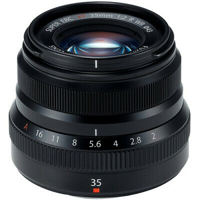 FUJIFILM XF 35mm f/2 R WR Lens (Black) 16481878 - AUTHORIZED FUJI DEALERS