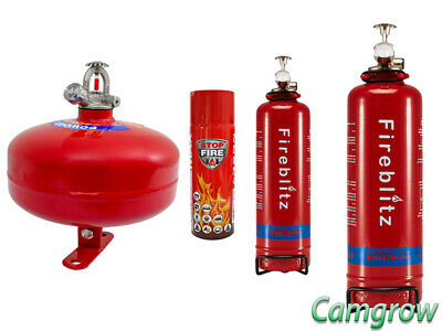 Fireblitz Extinguisher 1 & 2 Kg & Dry Powder Automatic 2 Kg & Reinold Max 500ml