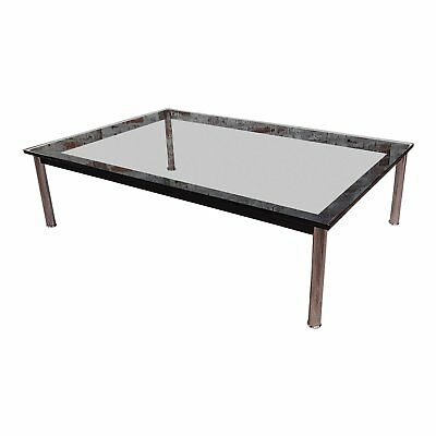 Vintage Le Corbusier for Cassina rectangular coffee table