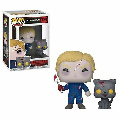 Funko Pop! & Buddy: - Pet Sematary - Undead Gage & Church (Toy Used Very Good)