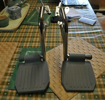 wheelchair foot rests x 2 by A & I  29cm high please see photos