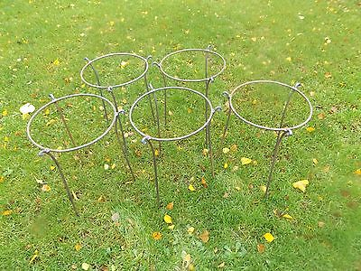"PEONY PLANT SUPPORT 5//16/"" BAR LARGE HEAVY DUTY HANDMADE METAL HERBACEOUS"
