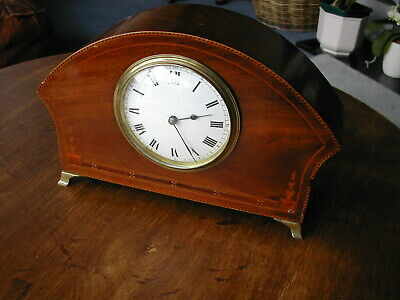 Antique eight day French cottage clock