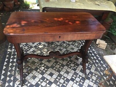 Antique hallstand / sidetable by gillows