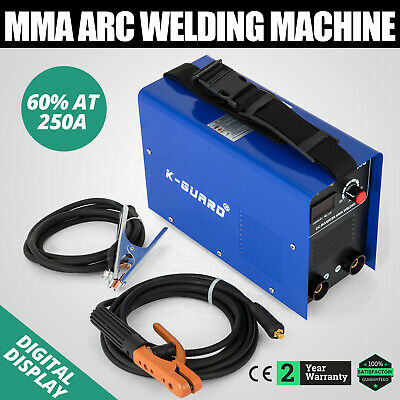 MMA-250 Inverter Welding Machine Arc E-HAND Welder cable Robust 230V BEST PRICE