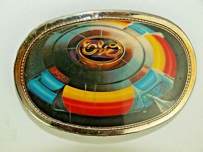 VINTAGE 1977 PACIFICA Jeff Lynne ELO BELT BUCKLE Out of the Blue