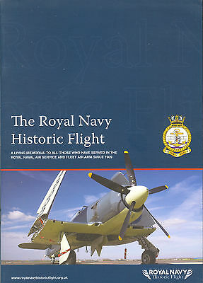 Broschüre The Royal Navy Historic Flight, Fairey Firefly, Sea Fury, selten,rare!