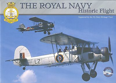 Broschüre The Royal Navy Historic Flight, Swordfish, Sea Hawk, selten, rare!