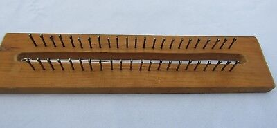 Wooden Rectangle Knitting Loom (14 inches long)
