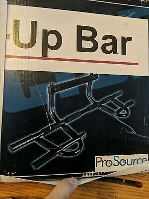 Prosource Fit Multi Grip Chin Up/Pull Up Bar Heavy Duty Doorway Trainer For Home
