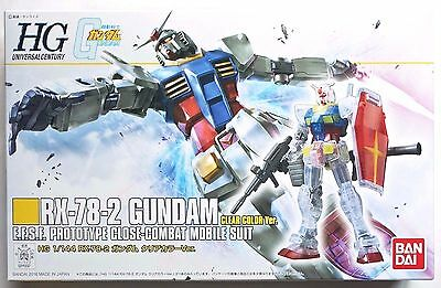 BANDAI HGUC 1/144 RX-78-2 Gundam Clear Color limited kit Gunpla EXPO 2016 Summer