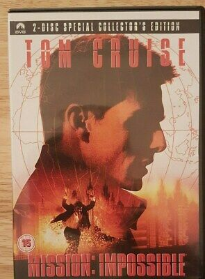 Ref 344 - Mission: Impossible DVD - Action Film Starring Tom Cruise