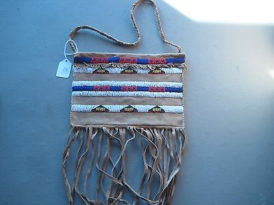 Northern Plains Beaded  Document Bag, North American Beaded Bag, #Co-193