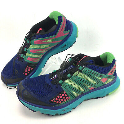 plus récent f4302 6f415 SALOMON XR MISSION 1 Sneakers Size 10 trail Multicolor toggle lace up  running