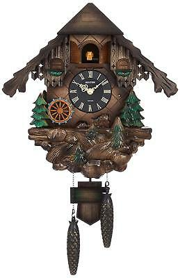 Rhythm watch Cuckoo wall clock Analog Karakuri Cuckoo Wald [made in Japan] Music