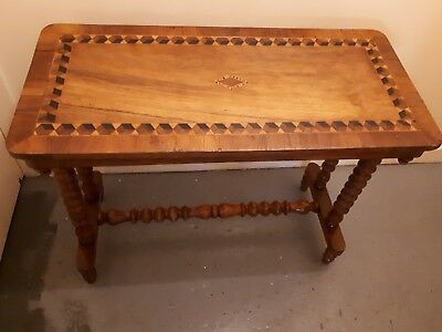 Victorian  parquetry   Console Table Or Hall Table
