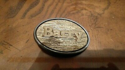 "Vintage Belt Buckle BARRY Oden made in USA 1 3/4"" x 2 3/4"""