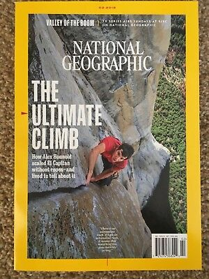 National Geographic The Ultimate Climb Feb 2019 Magazine