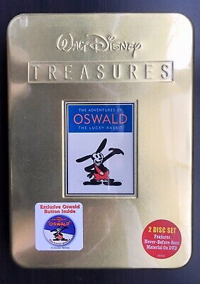 Walt Disney Treasures The Adventures of Oswald The Lucky Rabbit DVD
