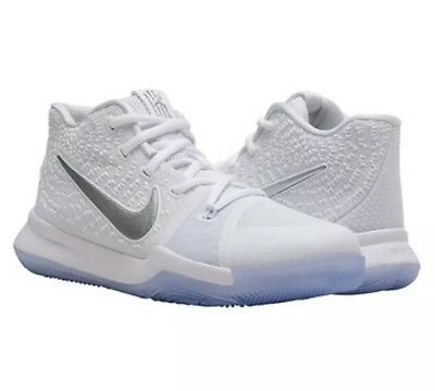 6cbc69340dfae NIKE KYRIE IRVING 3 Iii Ts Gs Pure Platinum 7Y Finals Mvp Basketball ...