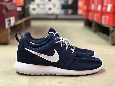 new styles 3222d 45ada NIKE ROSHE ONE Mens Running/Athletic Shoes Navy/White 511881-423 NEW Size  10.5
