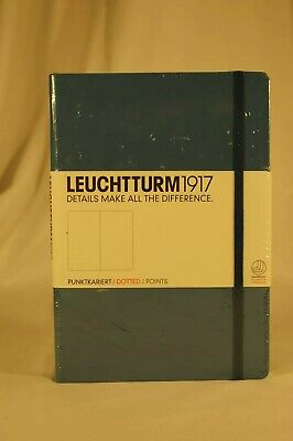 Leuchtturm1917 Hardcover Medium Dotted Journal Blue - New Unopened