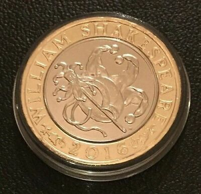 2016 Shakespeare Comedies £2 Two Pounds Coin