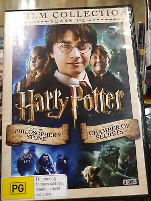 Harry Potter year 1 + 2 Film Collection dvd