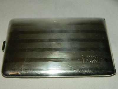 Antique Thomae Company Sterling Silver Cigarette Case 118g