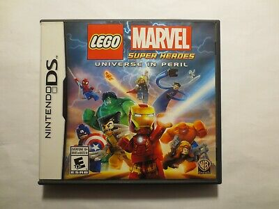 LEGO Marvel Super Heroes: Universe in Peril (Nintendo DS 2014) COMPLETE