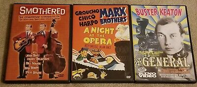 Smothered, A Night At The Opera - Groucho Marx & The General DVD Lot
