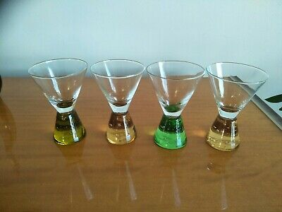 Set Of 4 Control Bubble Shot Glasses