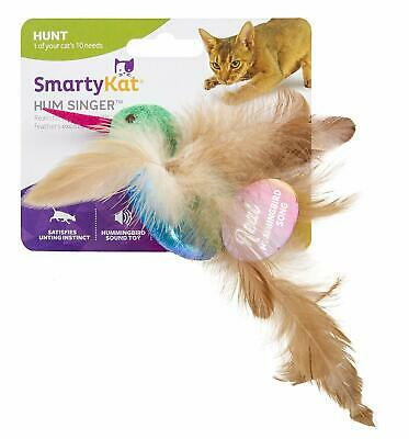Petlinks Cheep Thrills Cat Toy Crackle Sack with Electronic Bird Sounds TAXFREE