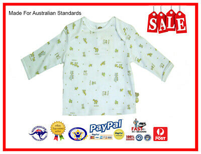 GENUINE AUS LICENSED Baby Boys Girls Unisex Toy Box Long Sleeve Tee Top-SALE