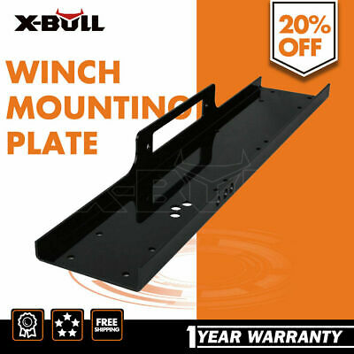 XBULL Universal Winch Mounting Plate 4WD 4x4 High Mount Truck Trailer