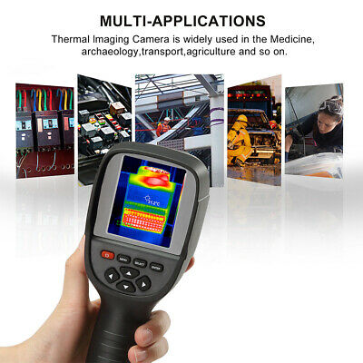 35200 Pixel Color Display Infrared High Resolution Portable Thermal Imager New