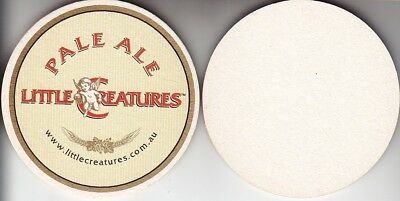 Little Creatures Brewery Pale Ale Round Australian issued Beer Coaster  Beer Mat