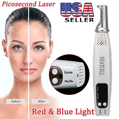 Handheld Picosecond Laser Tattoo Scar Freckle Removal Pen Machine Skin Beauty
