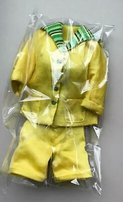 """12"""" East 59th~Mai Tai Swizzle Constance Madssen Yellow Outfit Only~LE 500~New"""
