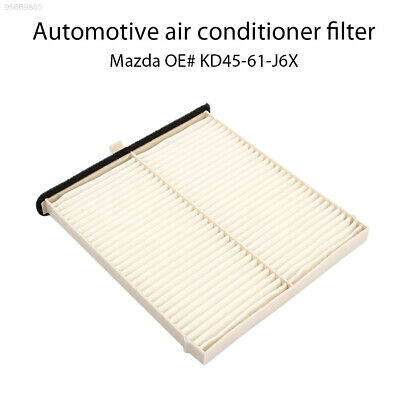 F8F4 White Replacement Auto Activated Carbon Cabin Air Filter for Mazda 3 6 CX-5