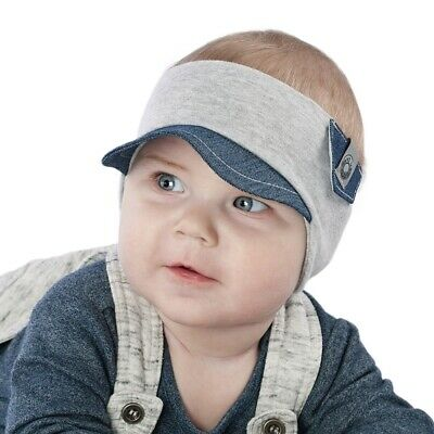 Brand New Lovely Colourful Cotton Soft Baby Boy Toddler Headband/Sunviser 0-3Y