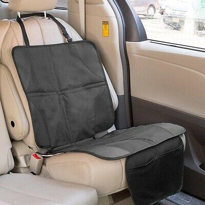 Waterproof  Unisex Baby Kids Safety Kick Mat Car Seat Protector Cover Organizer